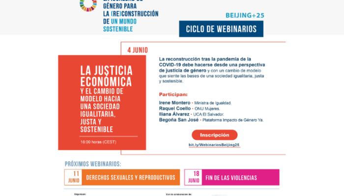 Justicia económica y cambio de modelo hacia una sociedad igualitaria, justa y sostenible