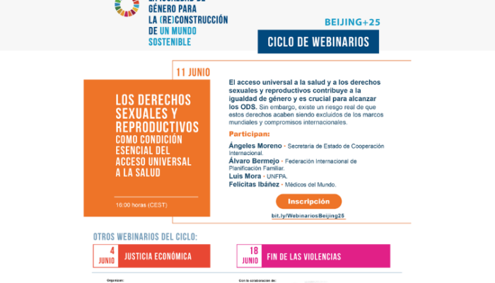 Avanzar en los derechos sexuales y reproductivos para (re)construir con igualdad de género