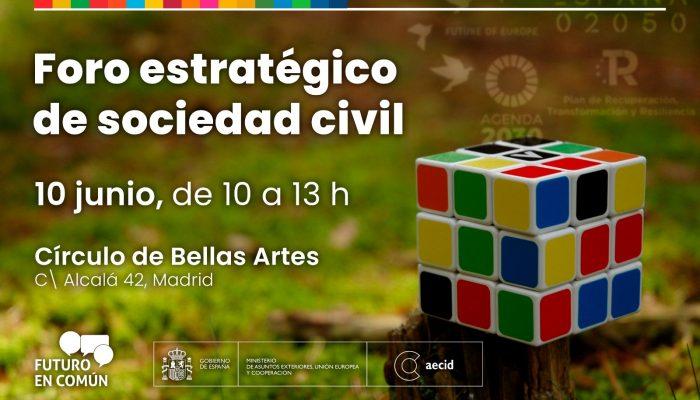 Foro Estratégico de Sociedad Civil